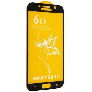 Защитное стекло 6D Premium для Samsung Galaxy A7 2017 (A720) – Black