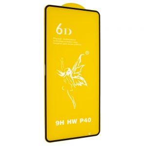 Защитное стекло 6D Premium для Huawei P40 – Black