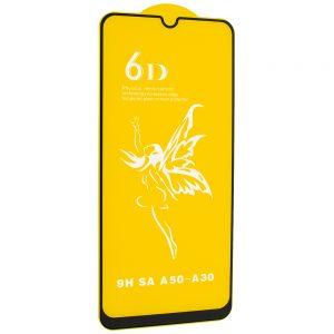 Защитное стекло 6D Premium для Samsung Galaxy A20 / A30 / A30s / A50 / M30s / M31 / M21 – Black