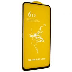 Защитное стекло 6D Premium для Huawei P40 Lite E – Black