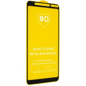 Защитное стекло 9D Full Glue Cover Glass на весь экран для Nokia 3.1 Plus – Black