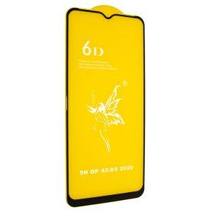 Защитное стекло 6D Premium для Oppo A5 (2020) / A9 (2020) – Black