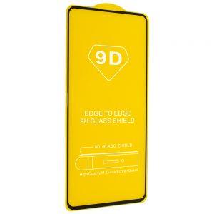 Защитное стекло 9D Full Glue Cover Glass на весь экран для Huawei P Smart 2021 – Black