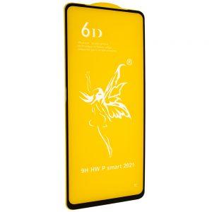 Защитное стекло 6D Premium для Huawei P Smart 2021 – Black