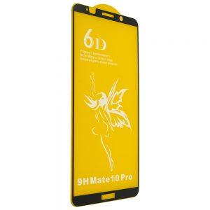 Защитное стекло 6D Premium для Huawei Mate 10 Pro – Black