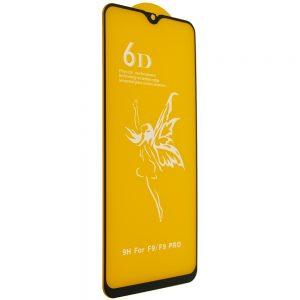 Защитное стекло 6D Premium для Realme XT / 5 Pro – Black
