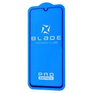 Защитное стекло 3D (5D) Blade Glass Full Glue на весь экран для Samsung Galaxy A40 2019 (A405) – Black