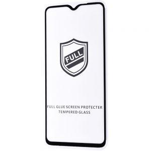 Защитное стекло 3D (5D) Perfect Glass Full Glue на весь экран для Xiaomi Redmi Note 8 Pro — Black