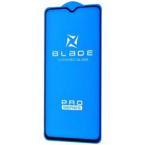 Защитное стекло 3D (5D) Blade Glass Full Glue на весь экран для Xiaomi Redmi Note 8 Pro – Black