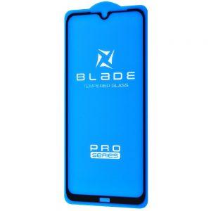 Защитное стекло 3D (5D) Blade Glass Full Glue на весь экран для Xiaomi Redmi Note 8T – Black