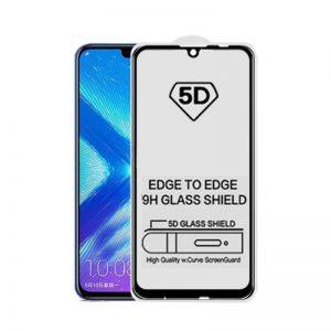Защитное стекло 3D / 5D Premium 9H Full Glue на весь экран для Huawei P Smart 2019 / Honor 10 Lite / 10i – Black