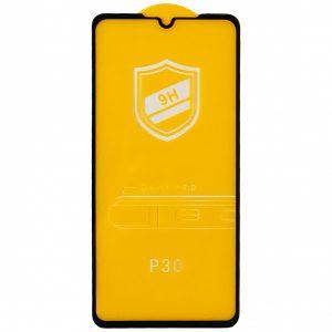 Защитное стекло 3D / 5D 9H Full Glue на весь экран для Huawei P30 – Black