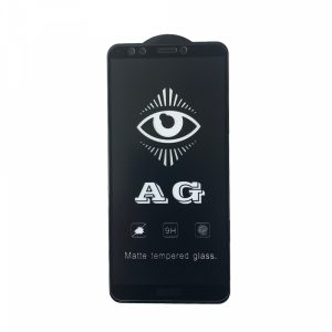 Матовое защитное стекло 3D (5D) Perfect AG для Huawei Y7 / Y7 Prime 2018 / Honor 7C Pro – Black