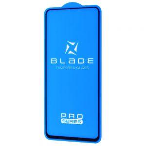 Защитное стекло 3D (5D) Blade Glass Full Glue на весь экран для Xiaomi Redmi Note 9s / Note 9 Pro – Black