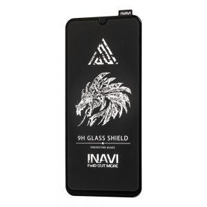 Защитное стекло 3D (5D) Inavi Premium на весь экран для Xiaomi Redmi 9A / 9C – Black