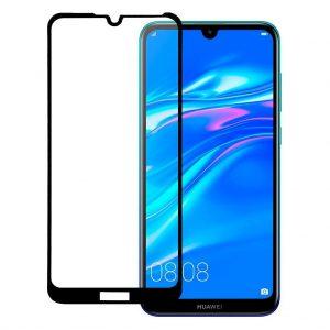 Защитное стекло 3D (5D) Perfect Glass Full Glue Ipaky на весь экран для Huawei Y6 2019 / Honor 8A – Black