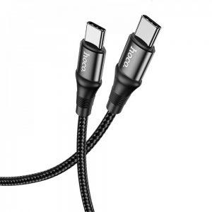 Кабель Hoco X50 Exquisito Type-C to Type-C 100W (1м) – Black
