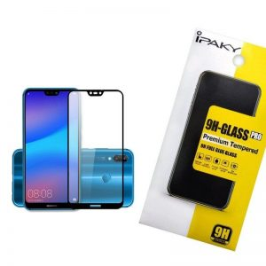 Защитное стекло 3D (5D) Perfect Glass Full Glue Ipaky на весь экран для Huawei P20 Lite – Black