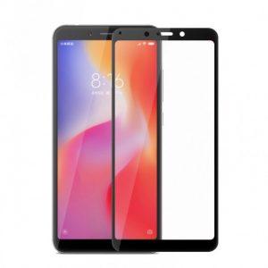 Защитное стекло 3D (5D) Inavi Premium на весь экран для Xiaomi Redmi 6 / 6A – Black