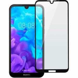 Защитное стекло 3D (5D) Perfect Glass Full Glue Ipaky на весь экран для Huawei Y5 2019 / Honor 8s – Black
