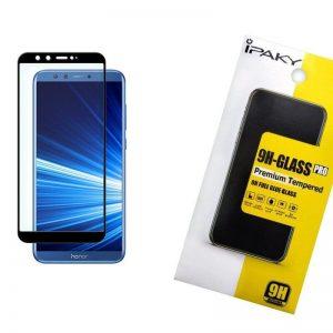 Защитное стекло 3D (5D) Perfect Glass Full Glue Ipaky на весь экран для Huawei Honor 9 Lite – Black
