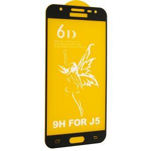Защитное стекло 6D Premium для Samsung Galaxy J5 2015 (J500) – Black