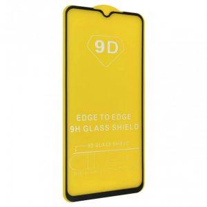 Защитное стекло 9D Full Glue Cover Glass на весь экран для Oppo A91 – Black