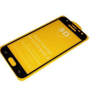 Защитное стекло 9D Full Glue Cover Glass на весь экран для Samsung Galaxy J3 2016 (J310 / J320) – Black