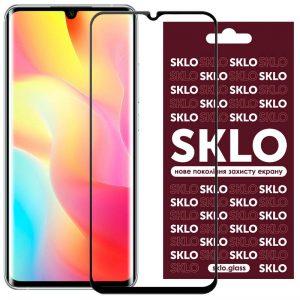 Защитное стекло 3D / 5D Premium SKLO Full Glue на весь экран для Xiaomi Mi 10T Lite / K30 Pro / Poco F2 Pro – Black
