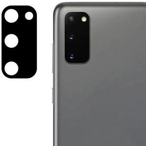 Гибкое защитное стекло 0.18mm на камеру для Samsung Galaxy S20 FE – Black