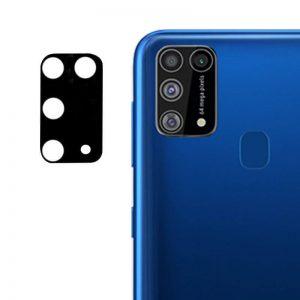 Гибкое защитное стекло 0.18mm на камеру для Samsung Galaxy M31 – Black