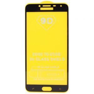 Защитное стекло 9D Full Glue Cover Glass на весь экран для Samsung Galaxy J4 2018 (J400) – Black