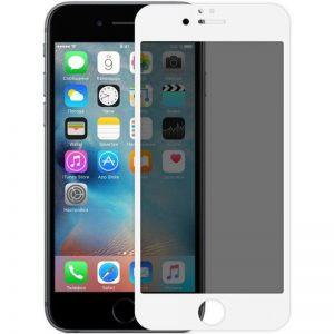 Защитное стекло Анти-шпион Privacy 5D Full Glue для Iphone 7 / 8 / SE (2020) – White