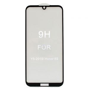 Защитное стекло 3D / 5D Premium 9H Full Glue на весь экран для Huawei Y5 2019 / Honor 8s – Black