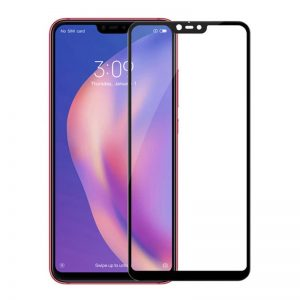 Защитное стекло 3D (5D) Perfect Glass Full Glue на весь экран для Xiaomi Mi 8 Lite — Black