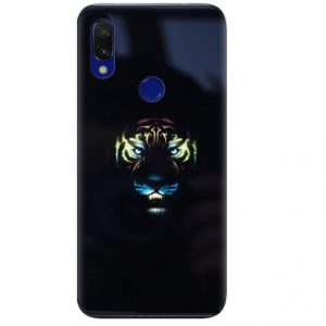 Чехол Night Luminous Glass Case для Huawei Y9 (2019) / Honor 8x – Tiger