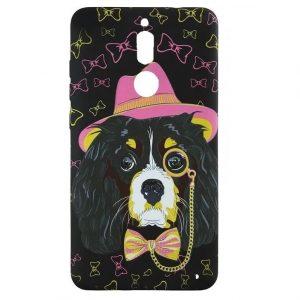 Силиконовый чехол Inavi Gallery Huawei Mate 10 Lite – Aristicratic Dog