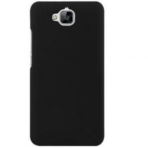 Матовый силиконовый TPU чехол для Huawei Y6 Pro – Черный