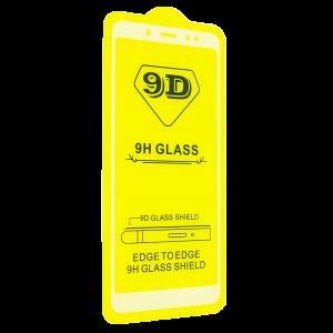 Защитное стекло 9D Full Glue Cover Glass на весь экран для Xiaomi Redmi Note 5 / 5 Pro – White