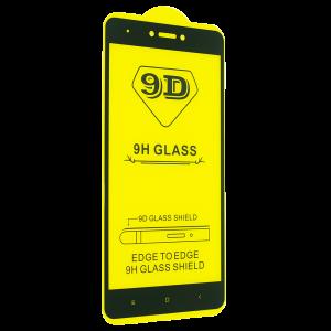 Защитное стекло 9D Full Glue Cover Glass на весь экран для Xiaomi Redmi Note 4x / Note 4 (Snapdragon) – Black
