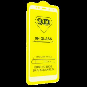 Защитное стекло 9D Full Glue Cover Glass на весь экран для Xiaomi Redmi 5 Plus – White