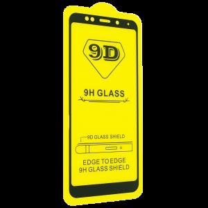 Защитное стекло 9D Full Glue Cover Glass на весь экран для Xiaomi Redmi 5 Plus – Black