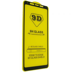 Защитное стекло 9D Full Glue Cover Glass на весь экран для Samsung Galaxy A9 2018 (A920) – Black