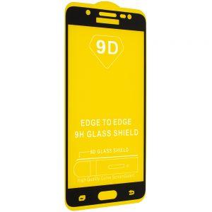 Защитное стекло 9D Full Glue Cover Glass на весь экран для Samsung Galaxy J5 2016 (J510) – Black