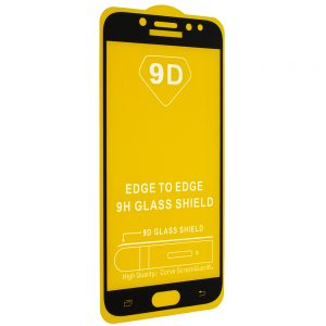 Защитное стекло 9D Full Glue Cover Glass на весь экран для Samsung Galaxy J7 2017 (J730) – Black
