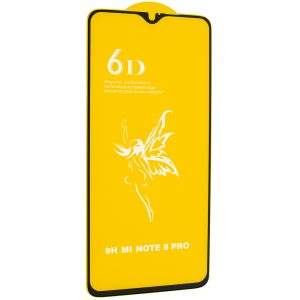 Защитное стекло 6D Premium для Xiaomi Redmi Note 8 Pro – Black