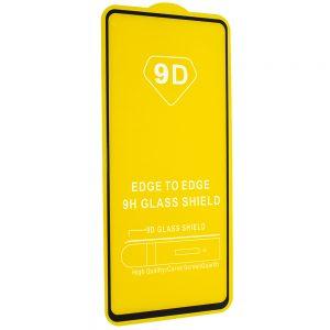 Защитное стекло 9D Full Glue Cover Glass на весь экран для Xiaomi Redmi Note 9s / Note 9 Pro – Black