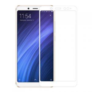 Защитное стекло 3D (5D) Perfect Glass Full Glue Ipaky на весь экран для Xiaomi Redmi Note 5 / 5 Pro – White