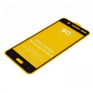 Защитное стекло 9D Full Glue Cover Glass на весь экран для Nokia 5 – Black