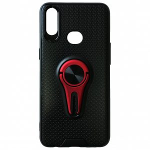 Cиликоновый чехол Car Mount c креплением под магнитный держатель для Huawei Y7 2019 / Y7 Prime / Y7 Pro – Red